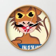Monkey king says No! Wall Clock