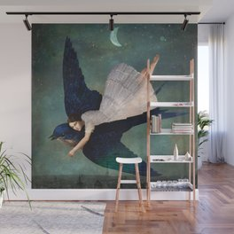 fly me to paris Wall Mural