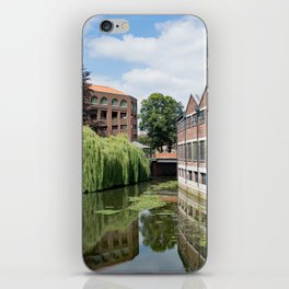 River Foss York iPhone Skin
