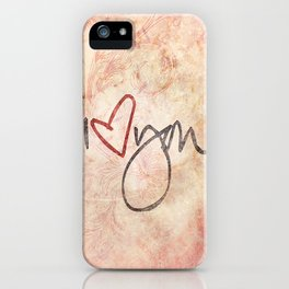 I love you more... every day - 01 (3 piece set) iPhone Case