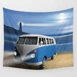 Blue ... beach ... bulli Wall Tapestry