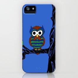 Mustachioed Owl iPhone Case