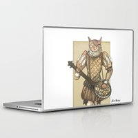 banjo Laptop & iPad Skins featuring Banjo Cat by Felis Simha