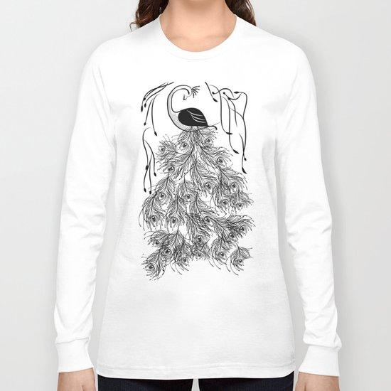 Jungle Peacock Long Sleeve T-shirt