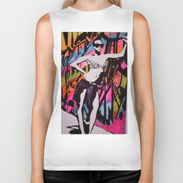Who's That Girl ??? Biker Tank