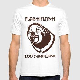 Zootopia Flash flash hundred yard dash Sloth Women man Children Sloth T-shirt