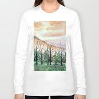 water color Long Sleeve T-shirts featuring Water Color by Anna Hanse