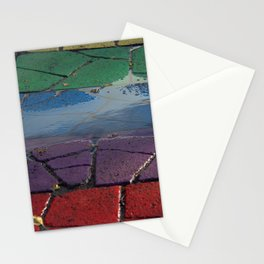 Street Paved with Raimbow Stationery Cards