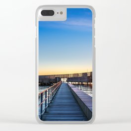 Kastrup Sea Bath, Copenhagen Clear iPhone Case