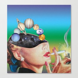 Spacehead Canvas Print