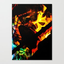 In Flames #8 Canvas Print