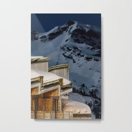 Ski In Ski Out Metal Print
