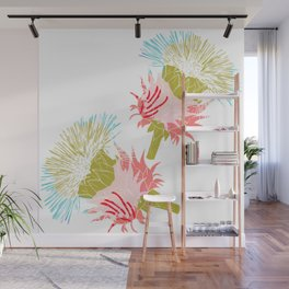 Pure flower Wall Mural