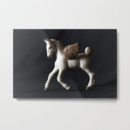 Pegasus Lights the Dark Metal Print