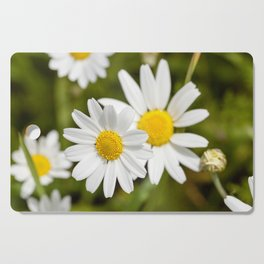 white daisy , flowers. Cutting Board
