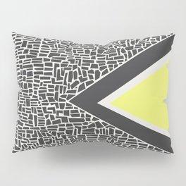 Abstract Mountain Range Pillow Sham