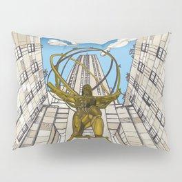 Atlas at Rockefeller Pillow Sham