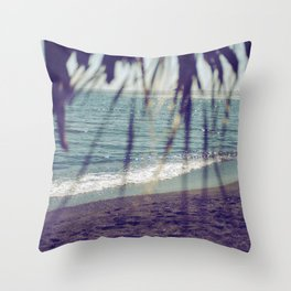 Turquoise Bliss Throw Pillow