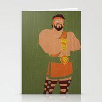 hercules Stationery Cards featuring Hercules by Young Jake