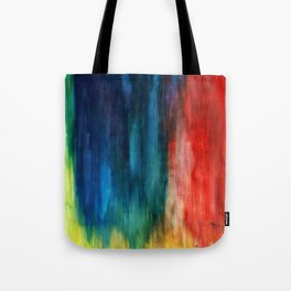 Spring Yeah! - Abstract paint 1 Tote Bag
