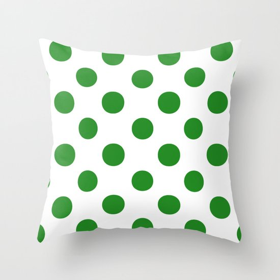 Polka Dots (Forest Green/White) by 10813apparel