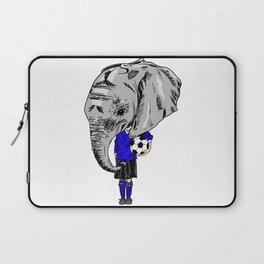 Footy Elephant Laptop Sleeve