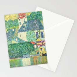 "Gustav Klimt ""Church in Unterach on the Attersee"" Stationery Cards"