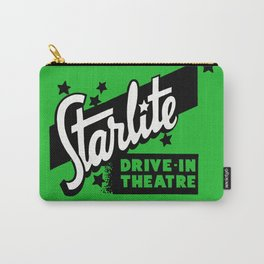 Starlite Drive In Green Carry-All Pouch