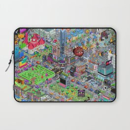 Videogame City V2.0 Laptop Sleeve