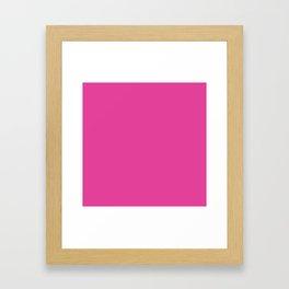 Pony Pink Framed Art Print