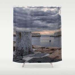 Cloudy afternoon at Lanes Cove 2392 Shower Curtain