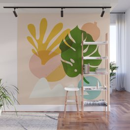 Abstraction_Floral_02 Wall Mural