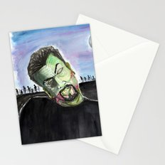 Zombified Stationery Cards