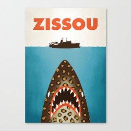 Zissou The Life Aquatic Canvas Print