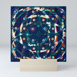 Make It Blue Mini Art Print