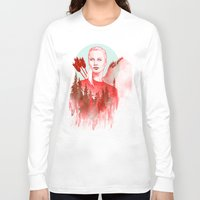 games Long Sleeve T-shirts featuring The Games by Katie Sanvick