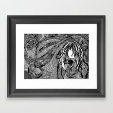 Falling Into You Framed Art Print