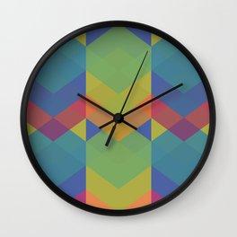 Chevron Dance 2 Wall Clock