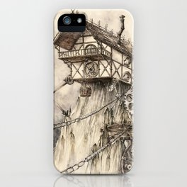 Steampunk House iPhone Case