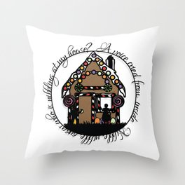Hansel and Gretel Print Throw Pillow