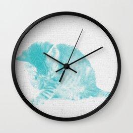 Kitten 02 Wall Clock