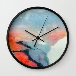 Grandidierite Wall Clock