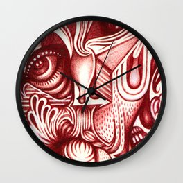 Sharp Senses & Soft Sensibilities Wall Clock