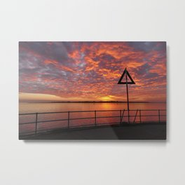 Brightlingsea, Essex Metal Print