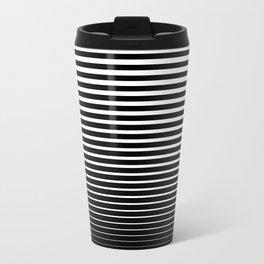 Line Gradient Travel Mug