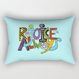 1 Thessalonians 5:16 Rectangular Pillow