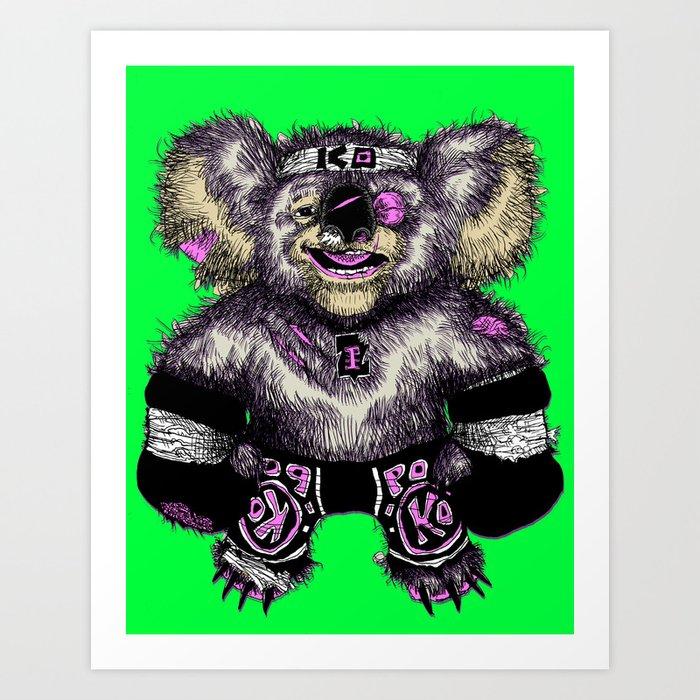 KO-ala Art Print