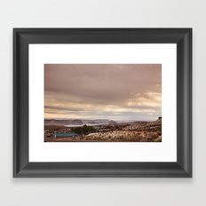 Near Lake Powell, AZ Framed Art Print
