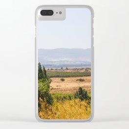 Atlantic Pistachio Clear iPhone Case