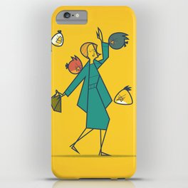 Birds (angry) iPhone Case